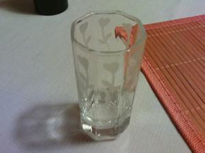 včerejší leptání skla...