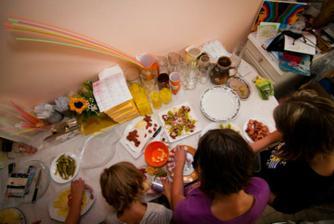 příprava občerstvení