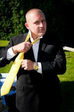 vázání kravaty připravil můj táta