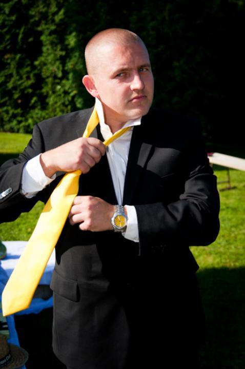 Martina Jenčová{{_AND_}}Tomáš Hruška - vázání kravaty připravil můj táta