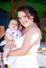 nejmenší svatebčanka Kájka - dcera Míši co mě malovala