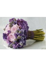 vintage kytice fialová