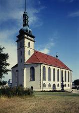 Děkanský kostel panny Marie v Mostě