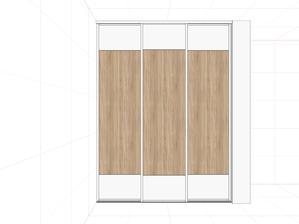 satnik 3x dvere