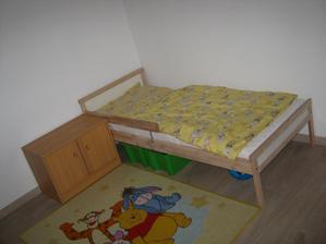 prva postel, miesto nej uz bude velkačska