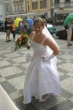 Vysmátá nevěsta :o)