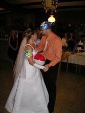 A tohle byl naprosto šílený nápad kamarádek - novomanželské sólo...:o)