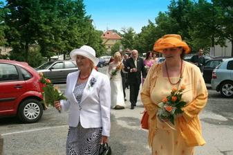 svatební maminky