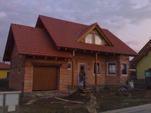 Poprvé zamykáme domeček :-)