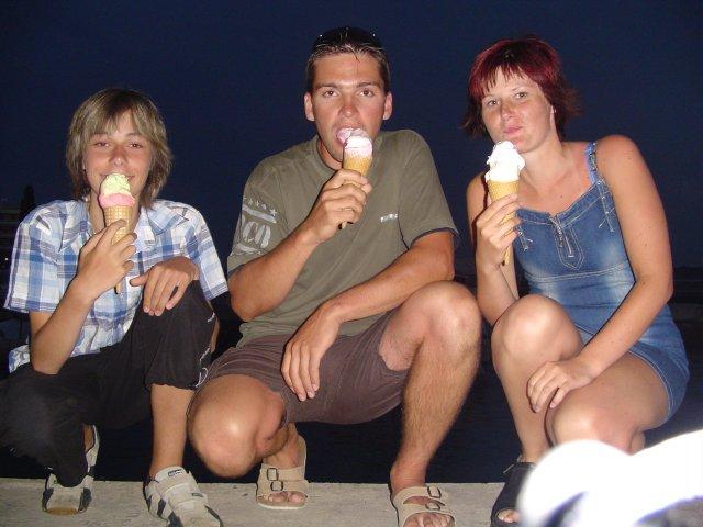 Bráška, Martin a já v Chorvatsku