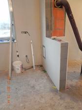 budúca priečka medzi kuchyňou a obývačkou...
