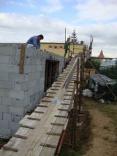 dokončovacie prace pred betonažou