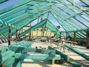 krov skoro hotovy