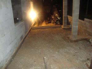 pripravena terasa na betonaž