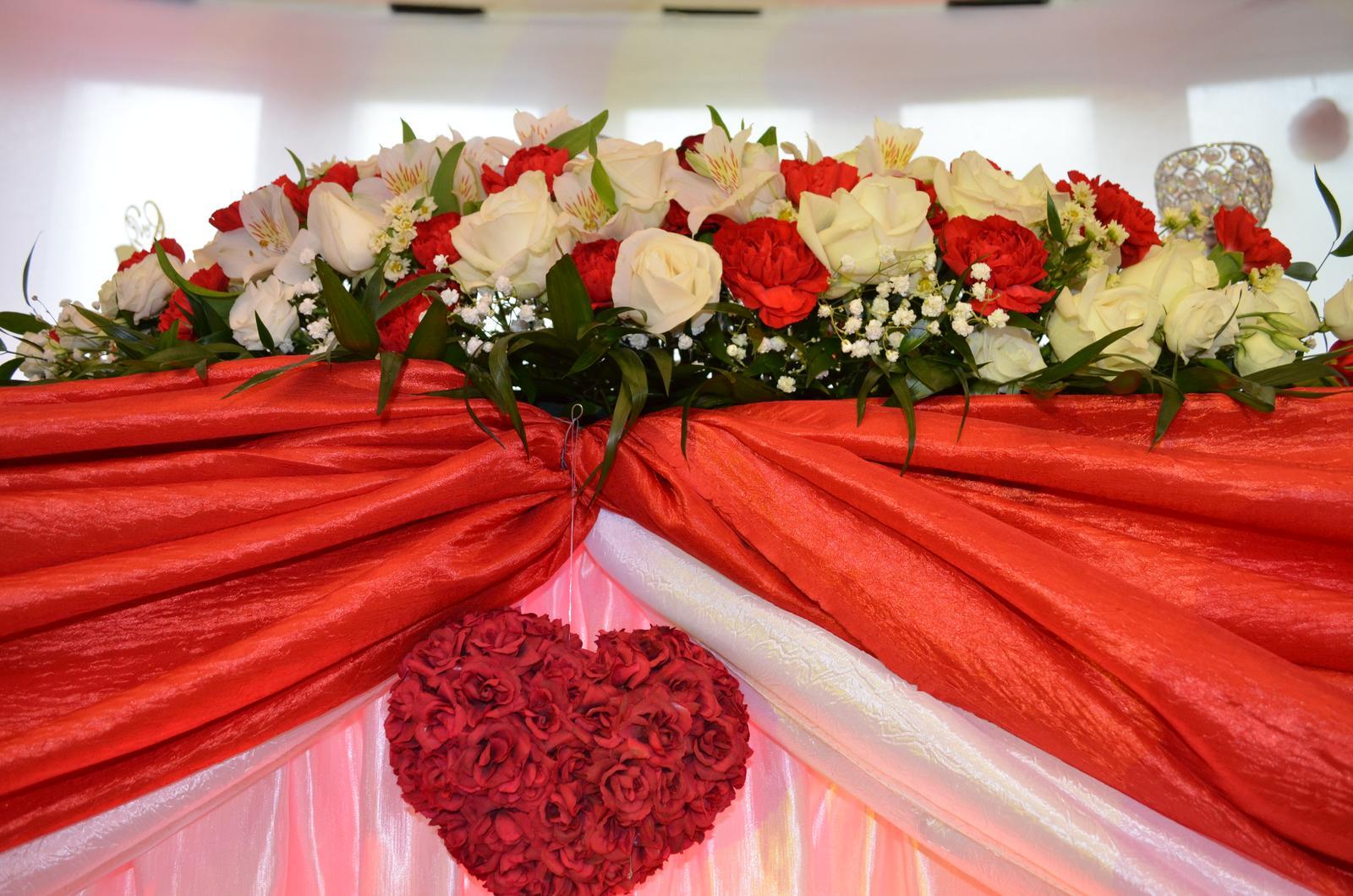 Aj taká môže byť vaša vysnívaná svadobná výzdoba . Dnešná sobota patrí Júlii & Ivkovi.. - Obrázok č. 6