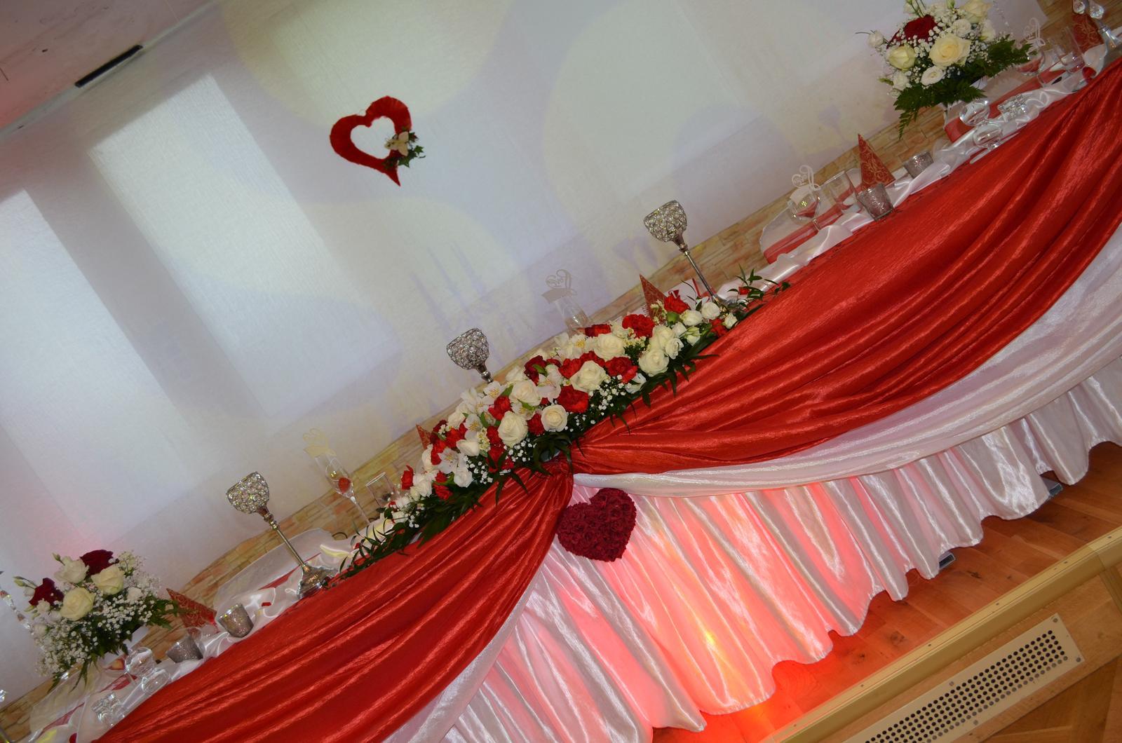 Aj taká môže byť vaša vysnívaná svadobná výzdoba . Dnešná sobota patrí Júlii & Ivkovi.. - Obrázok č. 8