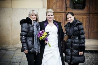 Kačenkou a Verunku aneb tak to vypadá,když se firma zavře a jde se na svatbu :-)