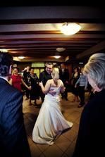 mám důkaz můj manžel tančí