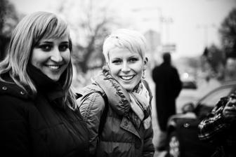 fotografka Verča a Katka (Kulacek)