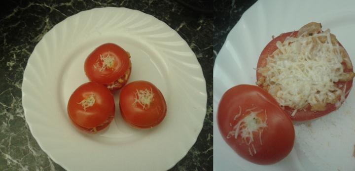 Peču a vařím :-) - plněná rajčata