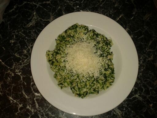 Peču a vařím :-) - Špenátové rizoto