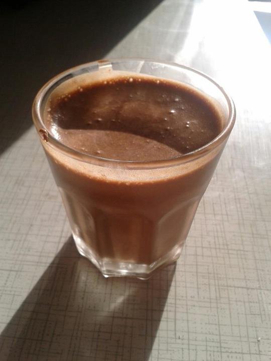 Peču a vařím :-) - čokoládová pěna