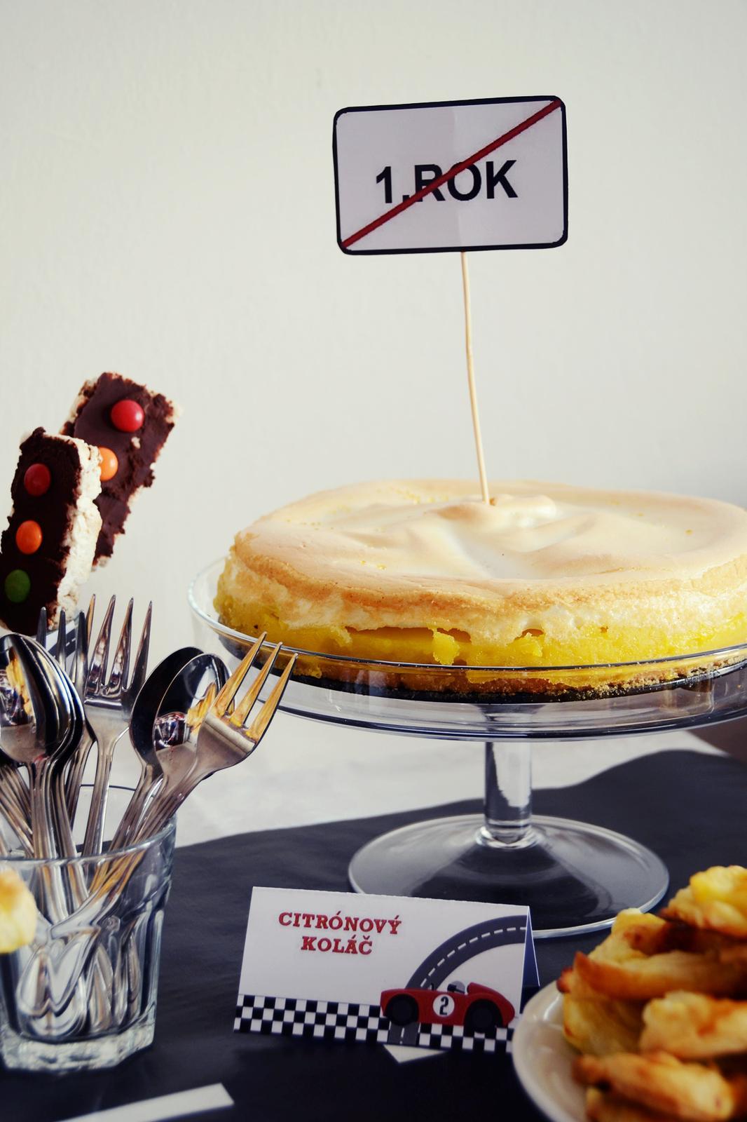 Peču a vařím :-) - citrónový koláč podle kitchenette