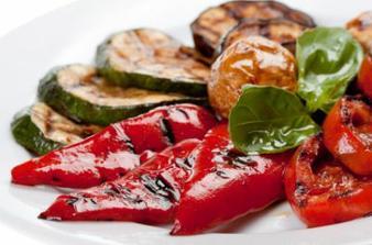 3)hl.chod-grilovaná zelenina