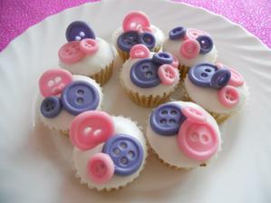 Knoflíkové muffiny