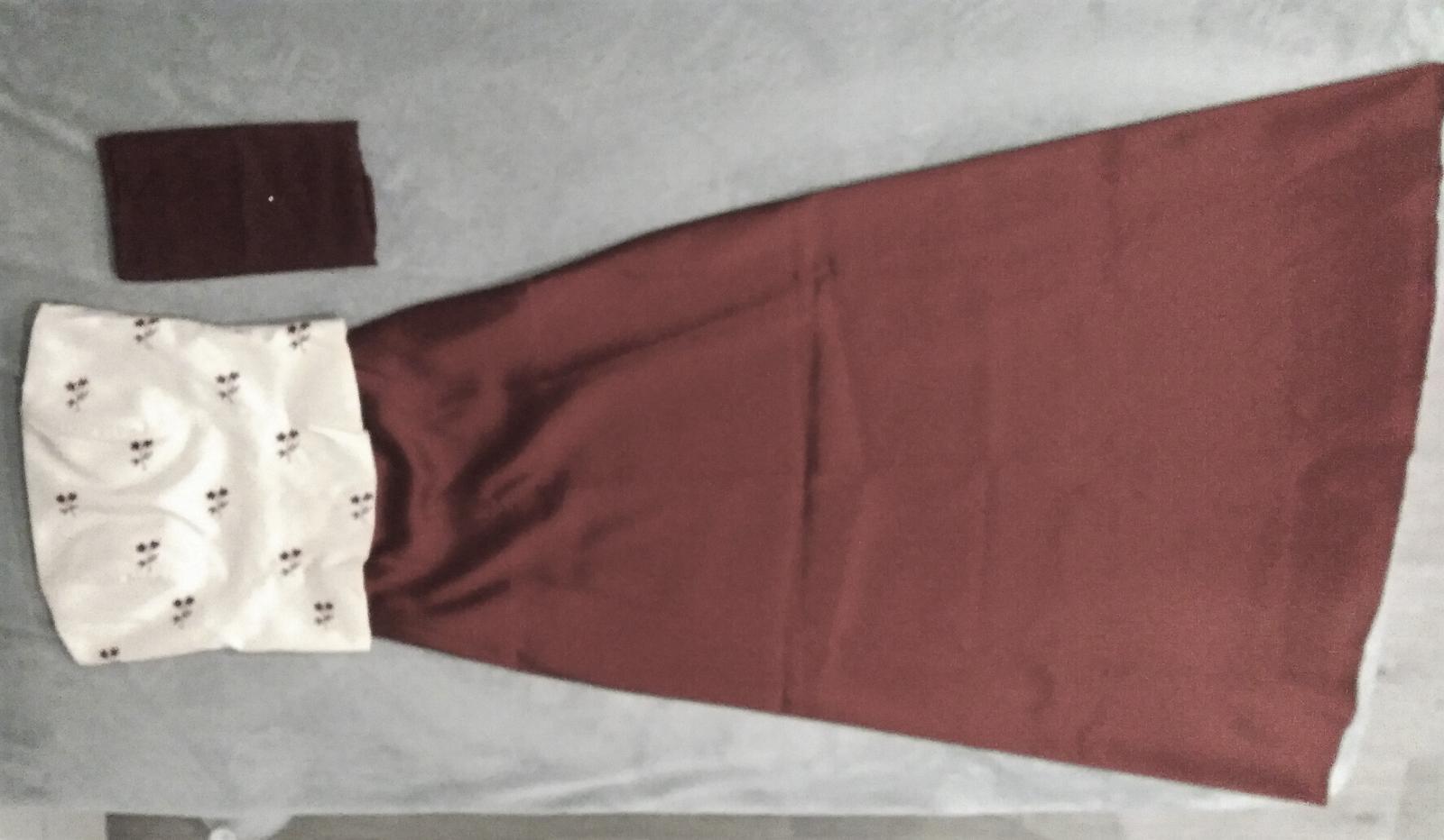 Korzetové šaty velikost S ( 36 - 38 ) - Obrázek č. 1