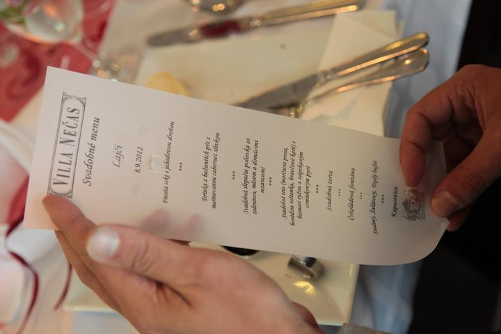 Renka{{_AND_}}Majko - Svadobné menu