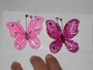 motýle na výzdobu