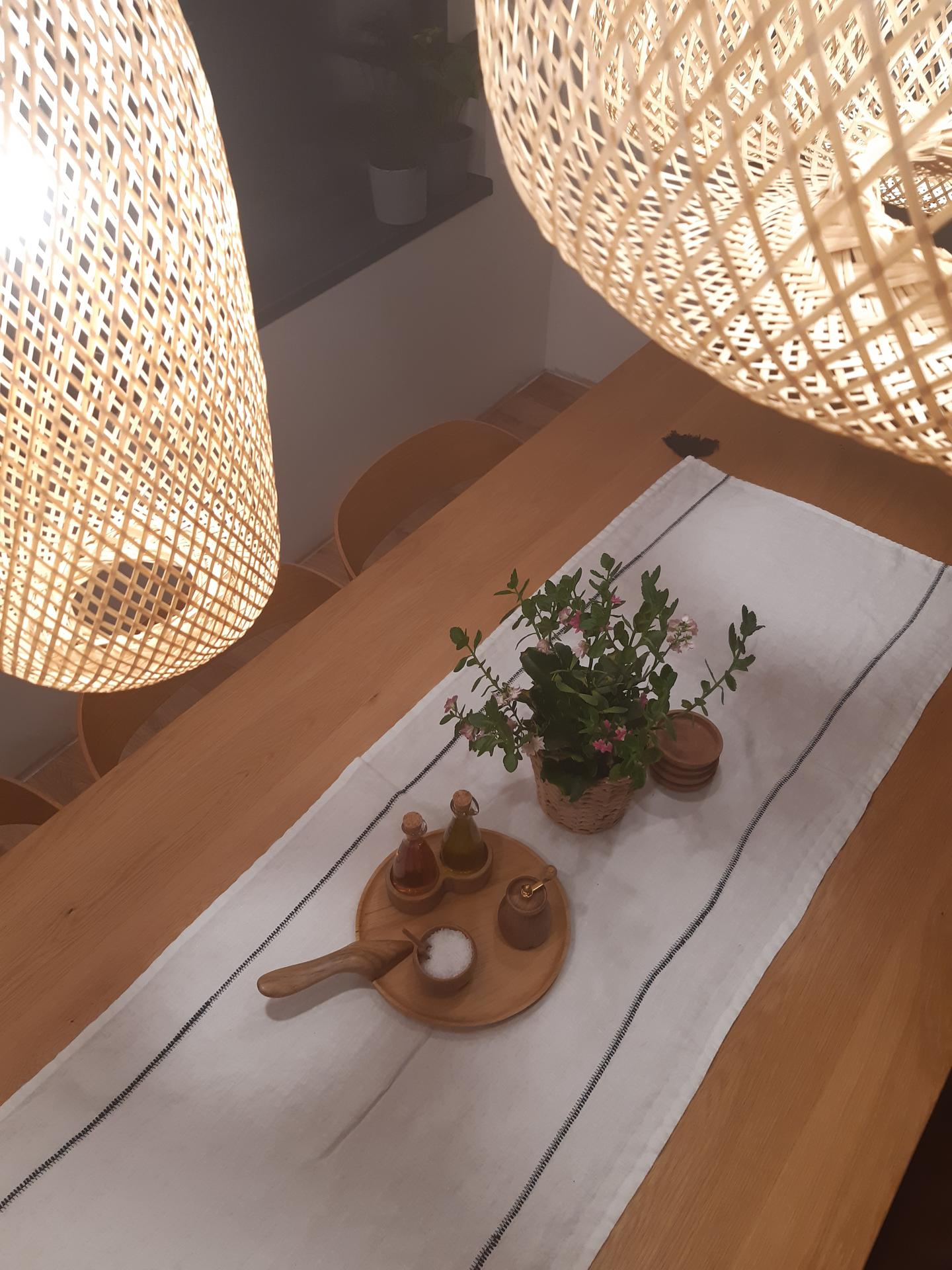 Nové dřevěné doplňky na jídelní stůl. - Obrázek č. 1
