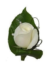 Korsáž pro ženicha, ale se žlutou růží