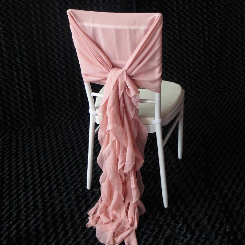 šifónová mašle na stoličku - Obrázok č. 1