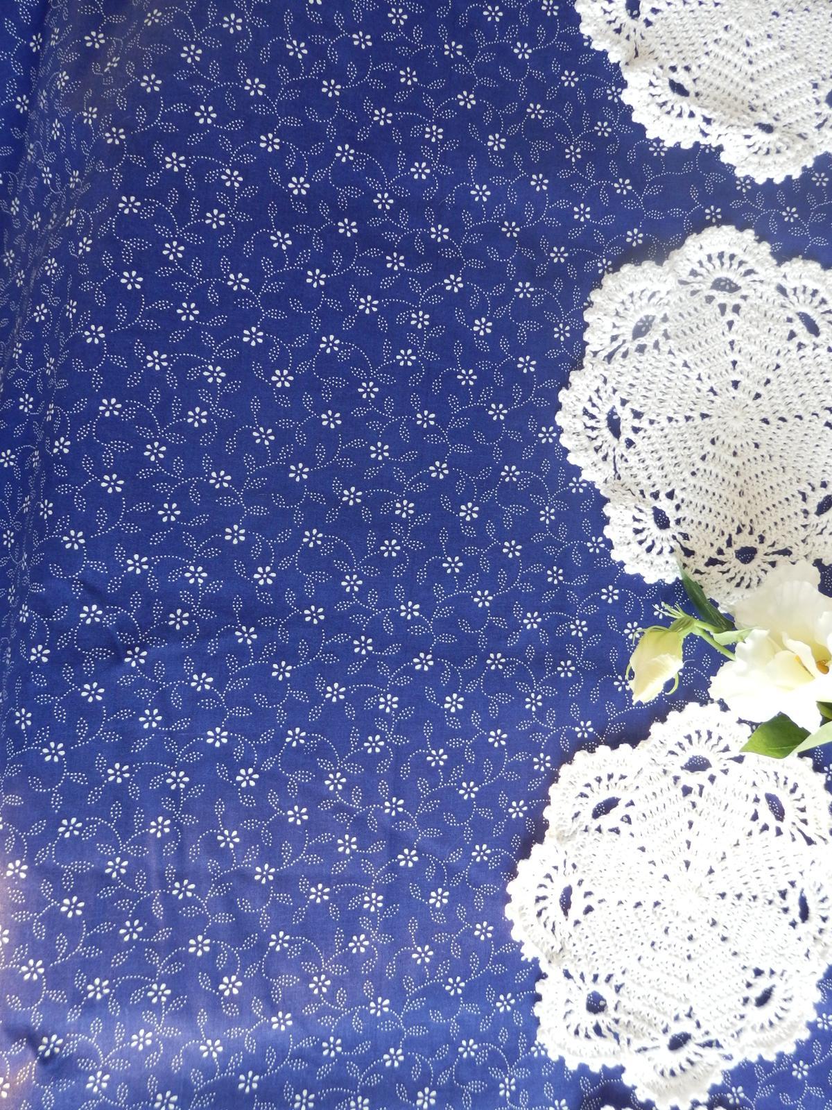 Obrus modrotlač - Obrázok č. 2