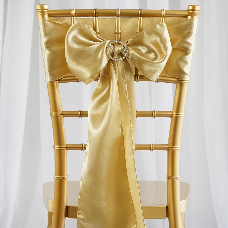 Zlaté saténové mašle - Obrázok č. 1