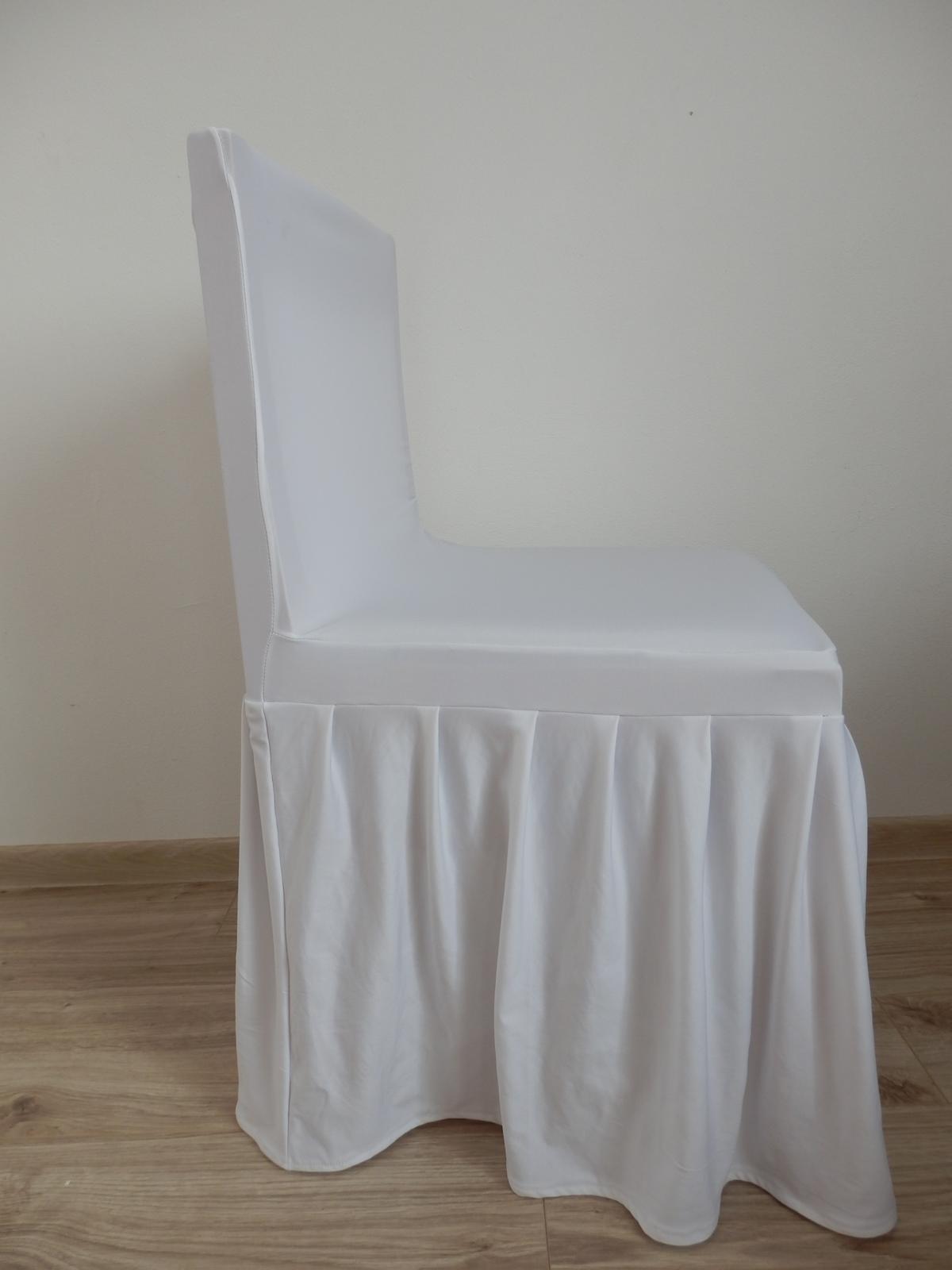 Návlek na širokú kancelársku stoličku - Obrázok č. 1