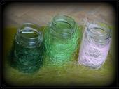 Kokosové vlákno (sisal) růžové, sv. a tm. zelené,