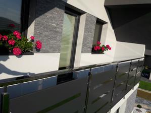 Predný balkón