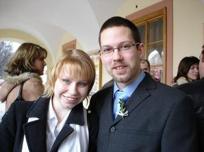 byli jsme na svatbe brasky (tahle fotka se nam moc libi)