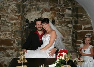 Už jsme manželé Hégrovi. Těší nás! :)