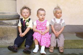 Nejmenší svatebčánci :)