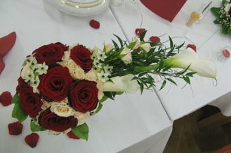 Svatební kytička....