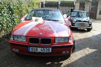 Vyzdobená autíčka :)