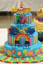 The sea of cake :)