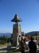 To je ona... Zvonička u Chaty Jiřího na Šeráku
