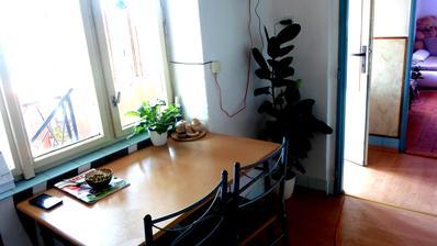 současná prozatimní kuchyňka (v prvním patře)