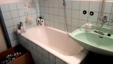 provizorní koupelnička
