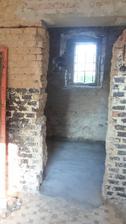 vybetonované podlahy šatna
